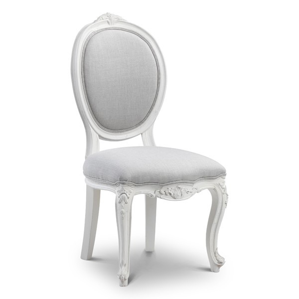sophia french style dining chair - crown french furniture