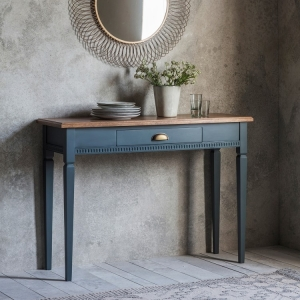 Bronte 1 Drawer Console Table Storm Grey