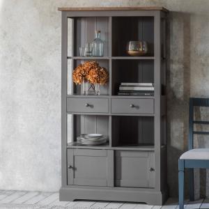 Cookham Grey Bookcase