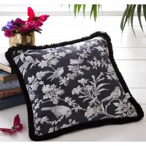 Oasis Amelia Charcoal Cushion