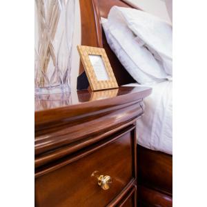 Antoinette French Sleigh Bedside Table