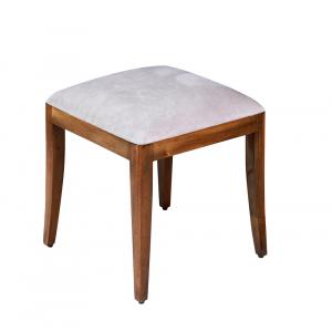 Antoinette French Upholstered Dressing Table Stool
