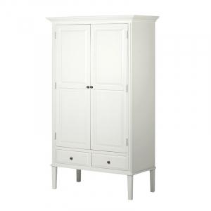 Ashwell Classic White French Wardrobe