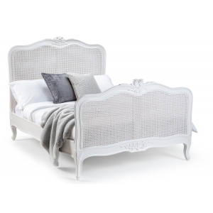 Louis French Rattan Bed