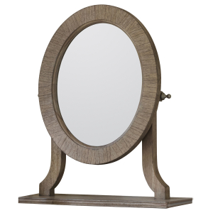 Camille French Style Weathered Dressing Table Mirror