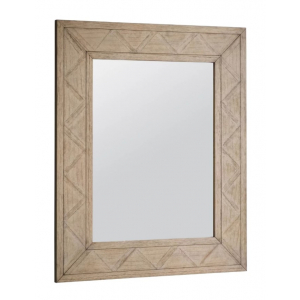 Camille French Weathered Wall Mirror