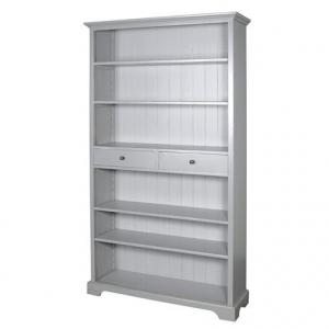 Chamonix Grey Bookcase with Drawers