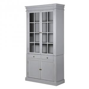 Chamonix Grey Glazed Cabinet