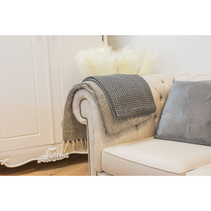 Grey Linen Chesterfield Style 2 Seat Sofa