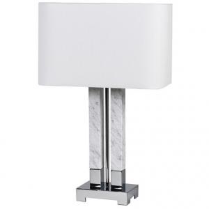 Double Marble Column Lamp