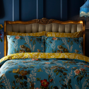 Gold Leaf Versailles French Button Bed