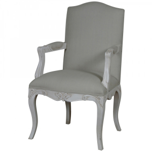 Louis French Upholstered Carver