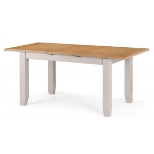 Malvern Off Grey Large Extending Dining Table