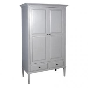 Chamonix Grey Double Wardrobe