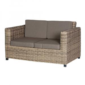 Outdoor Rattan Two Seat Sofa