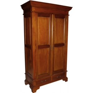 Reproduction French Sleigh Wardrobe