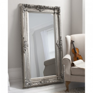 Valois Silver Leaner French Style Mirror