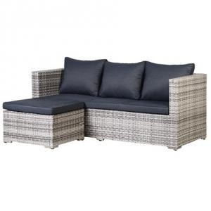 Woven Outdoor Corner Sofa