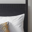 Manhattan Contemporary 4 Poster Charcoal Bed