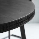 Manhattan Contemporary Round Dining Table