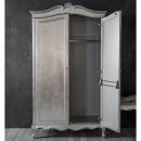 Alexandria French 2 Door Armoire - Open