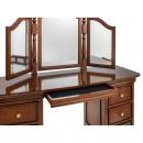 Antoinette French Sleigh Dressing Table Hidden Drawer