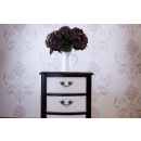 Augustus French Style 3 Drawer Bedside