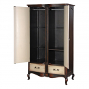 Augustus French Painted Armoire - Interior