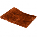 Burnt Amber Fur Throw