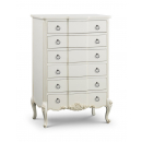 Beaulieu 6 Drawer Carved Chest