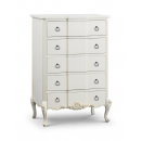 Beaulieu Carved French 5 Drawer Chest
