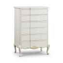 Beaulieu French 6 Drawer Tall Chest - no handle