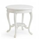 Beaulieu Antique White Round Side Table