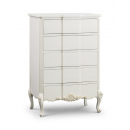 Beaulieu French 5 Drawer Tall Chest