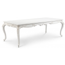 Antique White Beaulieu French Carved Dining table