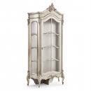 Beaulieu Silver French Glazed Display Cabinet