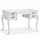Antique White Beaulieu French Writing Desk