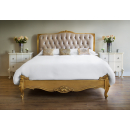 Beaulieu Gold Leaf French Bed