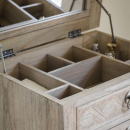 Camille French Chest With Open Top