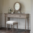Camille French Style Weathered Dressing Table Set