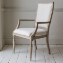 Camille French Style Weathered Chair
