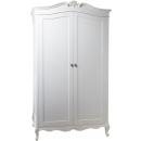 Charlotte French Painted Double Wardrobe