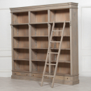 Reproduction Contemporary Large Rustic Bookcase