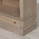 Large Rustic Contemporary Bookcase - close view
