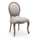 Dorset French Dining Chair - Finished in Oldwood Pearl