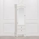Etienne Petite French White Wardrobe