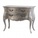Fleur Silver French Antique Style Chest of Drawers