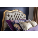 Antique Gold Leaf Versailles French Headboard
