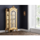 Beaulieu Gold French Display Cabinet