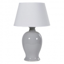 Blue/Grey Ceramic Table Lamp with Shade